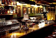 Bar in der Garage