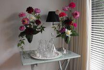 Dahlia's in de hoofdrol Marie-Fleurie Bloemenatelier / Bloemwerk met dahlia's