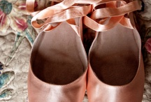 Point shoes, real and yummie / by Paula Drake's Tutus Divine