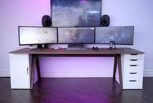 Desk setup for me