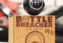 Gear Shifter / Love turning wrenches, drinking beer, and cruising on Sunday afternoons? Check out out Bottle Breacher Gear Shifter!