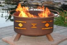 Keeping Warm / Here is our favorite ways to keep warm year round! Outdoors mostly, with some indoors.
