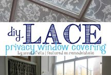 lace window coverings