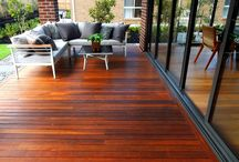 Timber Decking - Spotted Gum & Merbau