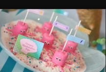 Mermaid Baby Shower / Welcome Baby Adelaide! Idea's for mermaid shower. / by Marie Hamilton