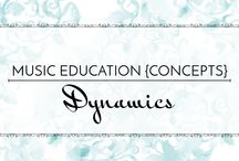 Dynamics - Music Education {Concepts} / Ways to teach loud vs. quiet and introduce dynamics