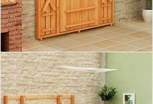 Furniture Ideas / Fold out picknick table