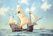 skibe med sejl