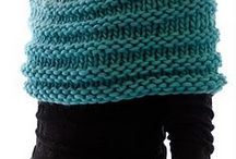 KNITTING IDEAS / Shawls, Cardigans,