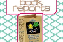 Book reports  / by Beverly Ladd