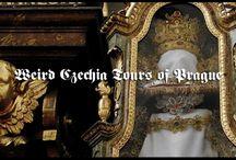 Weird Czechia Tours of Prague / Pins from our Weird Czechia Tours of Prague