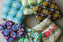 making cushions