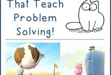 Wordless videos for problem solving