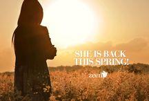 Zeen Spring/Summer Lawn Collection 2015 Vol-1 / www.zeenwoman.com