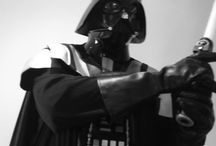 Star Wars Wedding | Tim Manger (Celebrant) Dressed As Lord Darth Vader / A themed wedding incorporating a fully attired Darth Vader marriage celebrant (Tim P Manger), and music from the original film