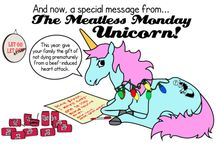 Meatless Monday Unicorn! / by vegansaurus