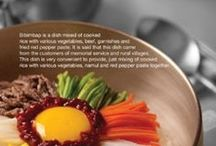 Korean food / enjoy korean food