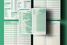 Foody diary printable