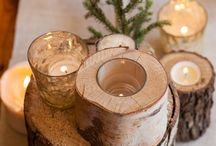 Holiday Table Centerpiece Ideas / Add something beautiful to your holiday table with one of these centerpieces.