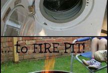 Broken appliances craft ideas