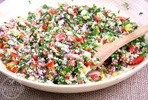 Receta salada Tabule de couve-flor
