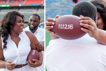 Go Gators Engagement Session in Gainesville by Ashley Canay