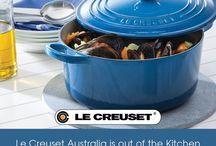 Le Creuset Australia is Now on Pinterest! / Join Us on Facebook, Instagram, Twitter and Pinterest @LeCreusetAU