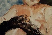 Mijn aquarellen en schilderijen