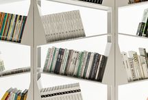 Filodesign MY LIBRARY / MY LIBRARY - white metal library with inclinated planes!