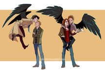 Supernatural drawings/Fan Arts