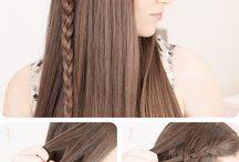 Trança de cabelo / Cabelo