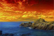 Sunsets & Sunrises / Beautiful photos of Sunsets and Sunrises.