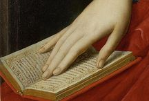 Books and reading in art / To transfer to tbs Pinterest and post on blog