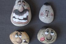PAINTED ROCK (Caras)