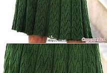 Knit dress, skirts and tunics, patterns and inspiration / knitted dresses, skirts, ans tunics patterns