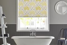 Bathroom Ideas / Blinds are the most popular type of window covering for bathrooms, chosen for their clean elegant look, resistance to moisture and being easy to wipe clean.