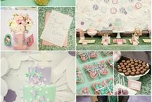 Girls Birthday Party Ideas / by Lillian Hope Designs
