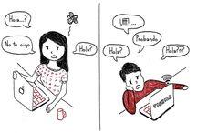 lo que es la distancia entre parejas / la distancia es un rollo...