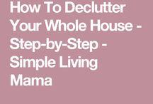 De clutter everything