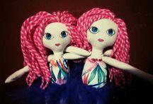 muñecas de tela//dolls