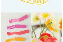 Colours / by Amelia Herbertson Art
