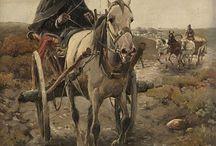 Alfred von Wierusz Kowalski / malarstwo