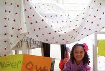 Let's build a fort! / A timeless kid favorite for a rainy or snowy day. / by Do You Roo