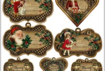 Christmans Decoupage paper
