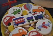 Decorated Cookies ~ Transportation