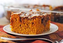 {Pumpkin Desserts}