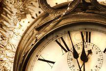 Relógios antigos de parede