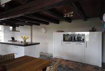 Moderne keuken / Moderne keuken.