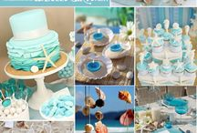 Mermaid cakes and party ideas