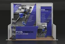 10' Event Package Kits / Trade Show Display Kit Packages.  Whether you need a 10X10 or 10X20 booth space or need a great table top option, these packages offer attractive display options.  Pick the kit that's right for you!